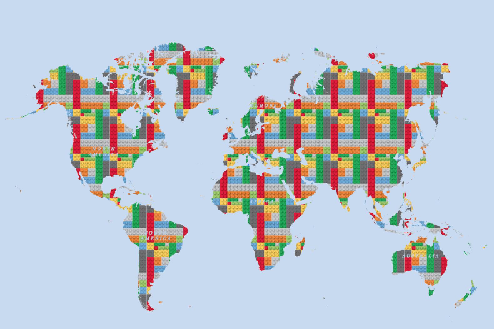 Lego world map cvln rp lego world map gumiabroncs Images