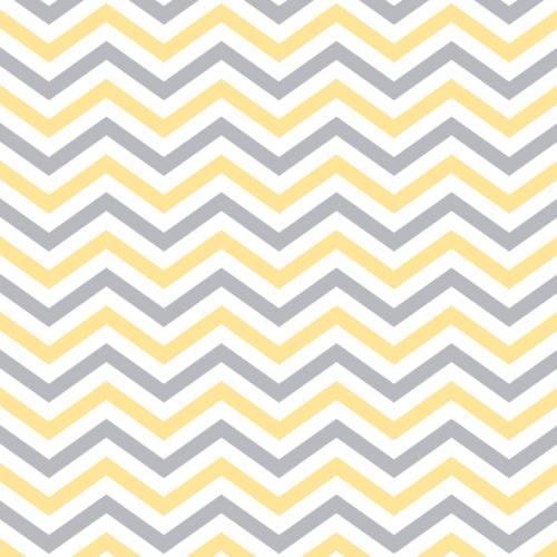 Chevron Pattern Yellow U0026 Grey