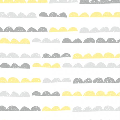half moon grey yellow