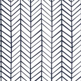 Zig Zag Stripe Navy