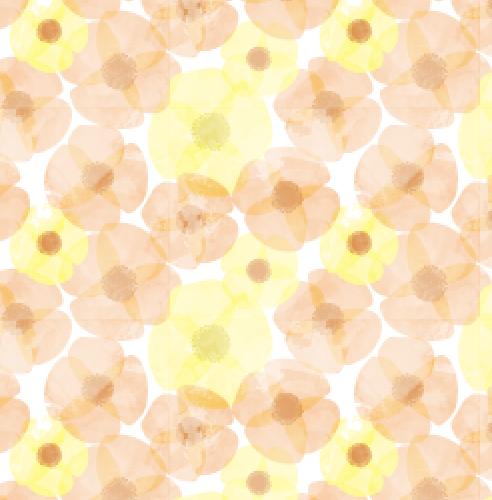 watercolour-blooms-yellow-orange