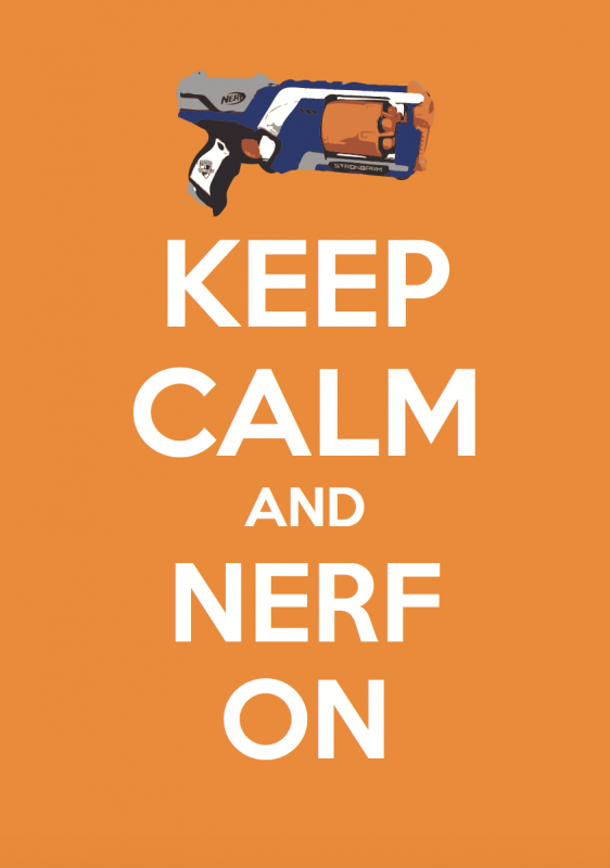 Keep Calm Nerf BC Magic Wallpaper