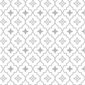Moroccan Star Grey