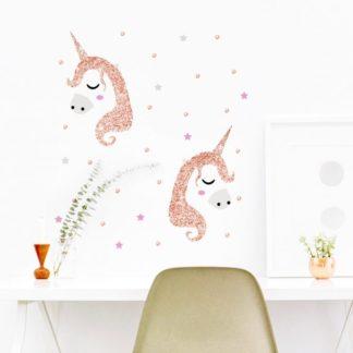 unicorn rose gold chair